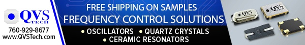 QVS Tech - Frequency Control Solutions - Oscillators, Quartz Crystals, Ceramic Resonators