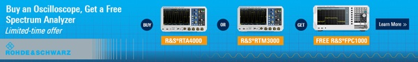 Buy an oscilloscope - Get a FREE Spectrum Analyzer